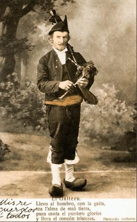 Postal de Gaiteru, Sieglu XIX